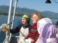 Прогулка на катере по Байкалу