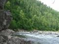 Утулик своей природой напоминает горные реки Алтая