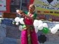 После концерта восхищенные зрители подарили Майе игрушечного тюленя, на память о Байкале