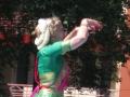 Майя исполняет индийский классический танец